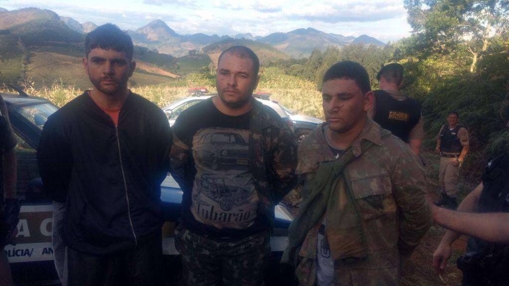Polícia prende 3 em caçada a suspeitos da morte de PM e vigia