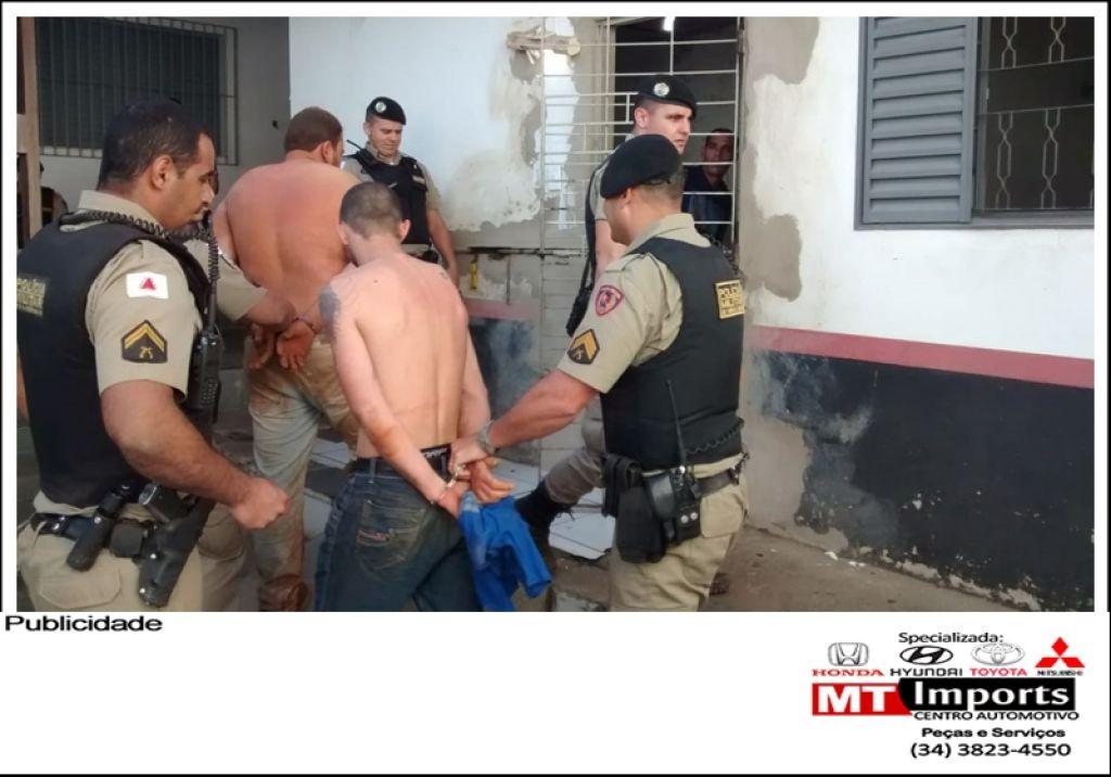 Após intenso trabalho PM prende suspeitos de tomar caminhonete de assalto