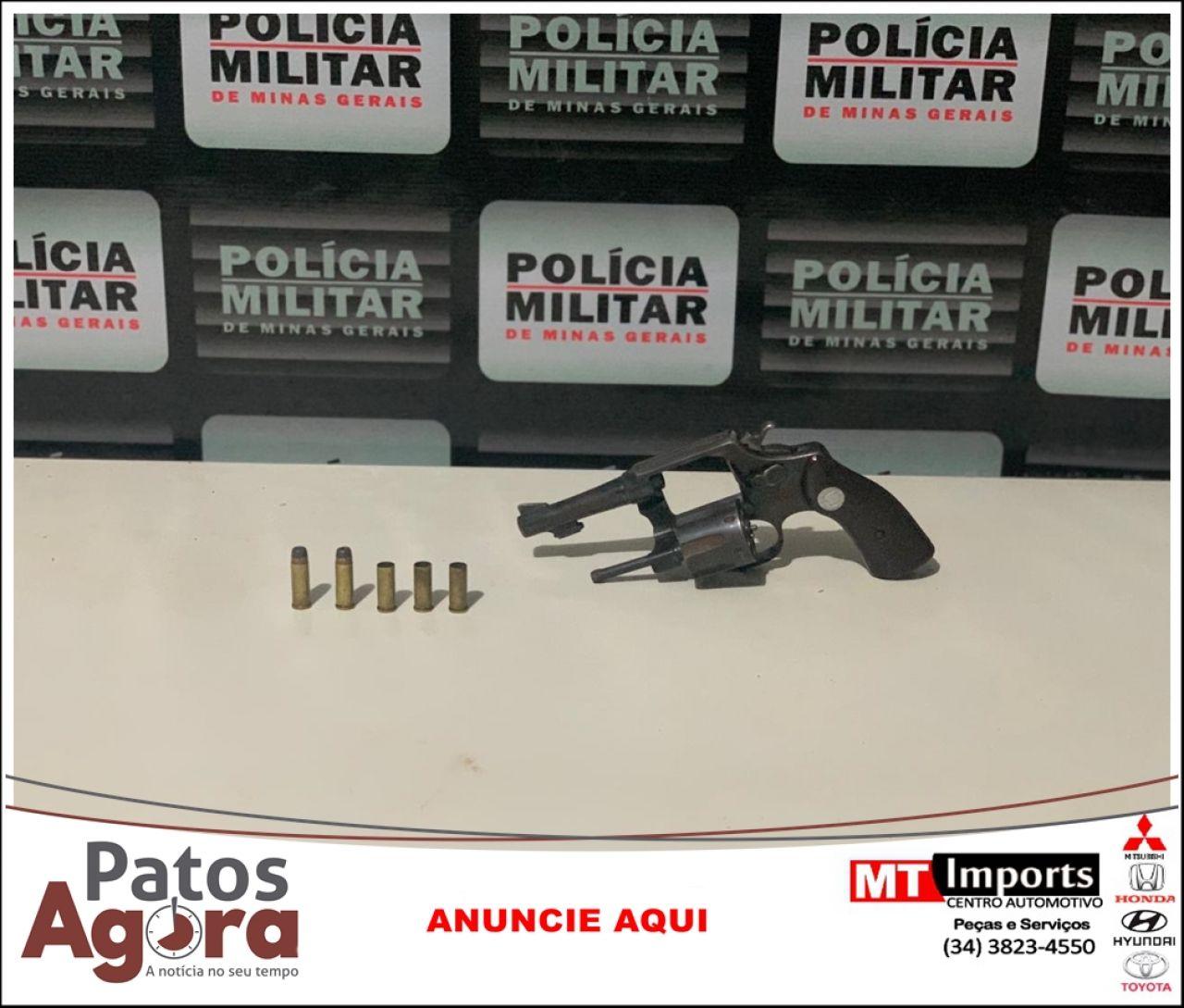 Casal é preso após tentativa de homicídio em Patrocínio