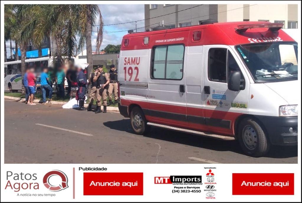 Motociclista morre após colidir violentamente em palmeira na Avenida Marabá