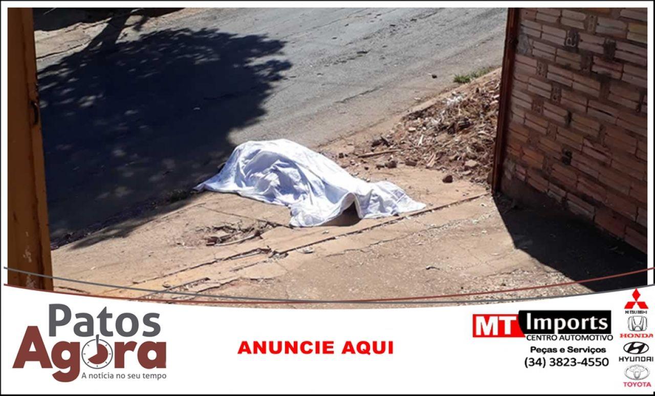 Veículo desgovernado dirigido por menor de idade atropela e mata homem em João Pinheiro
