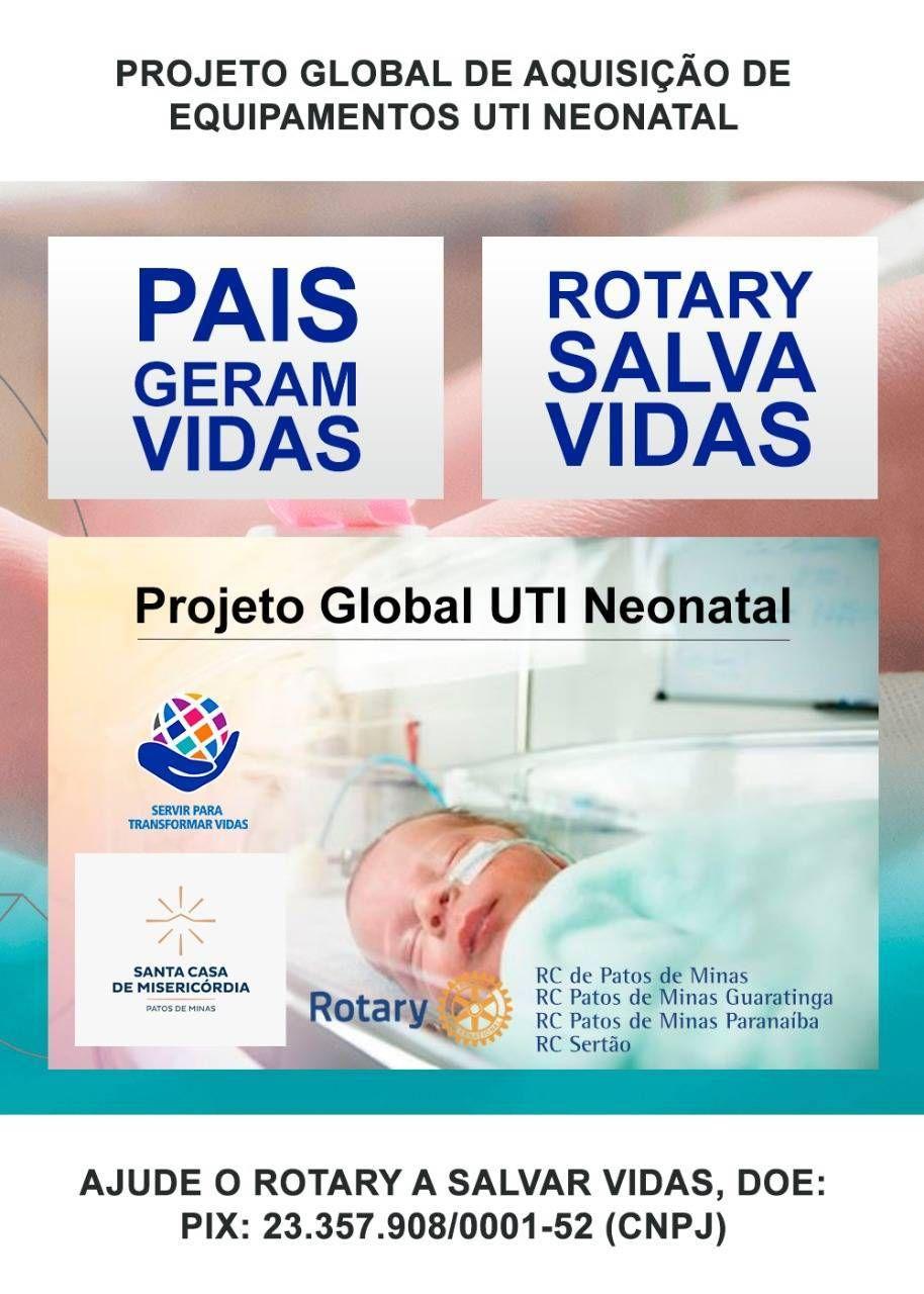 Projeto Global para UTI Neo Natal da Santa Casa de Misericórdia de Patos de Minas