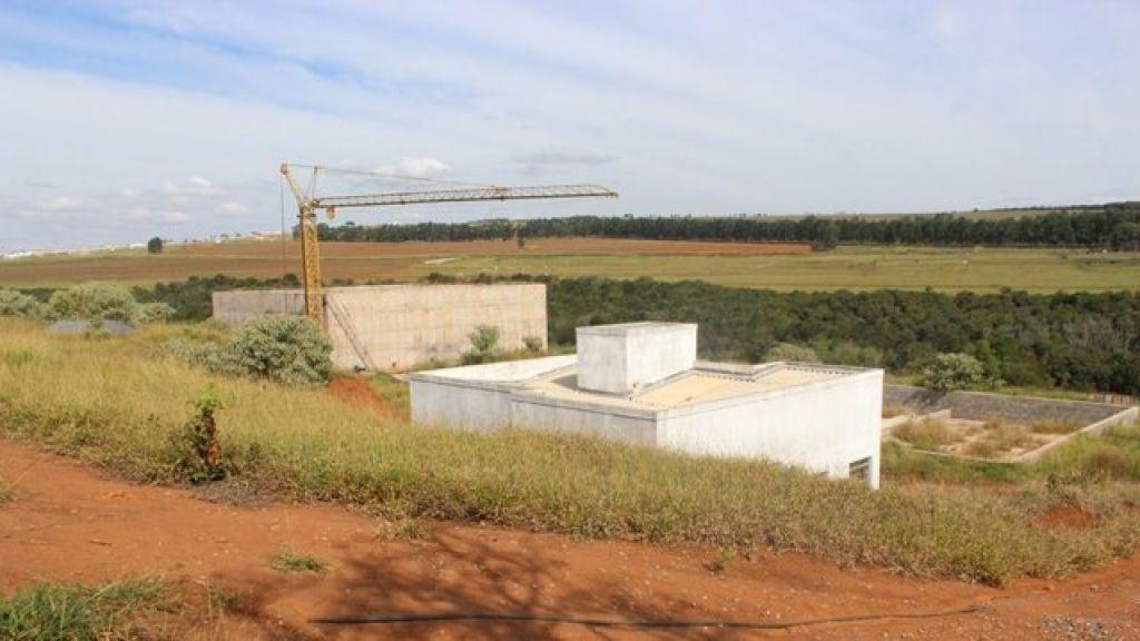 Parada há 20 meses, obra da Estação de Tratamento de Esgoto de Presidente Olegário será reiniciada