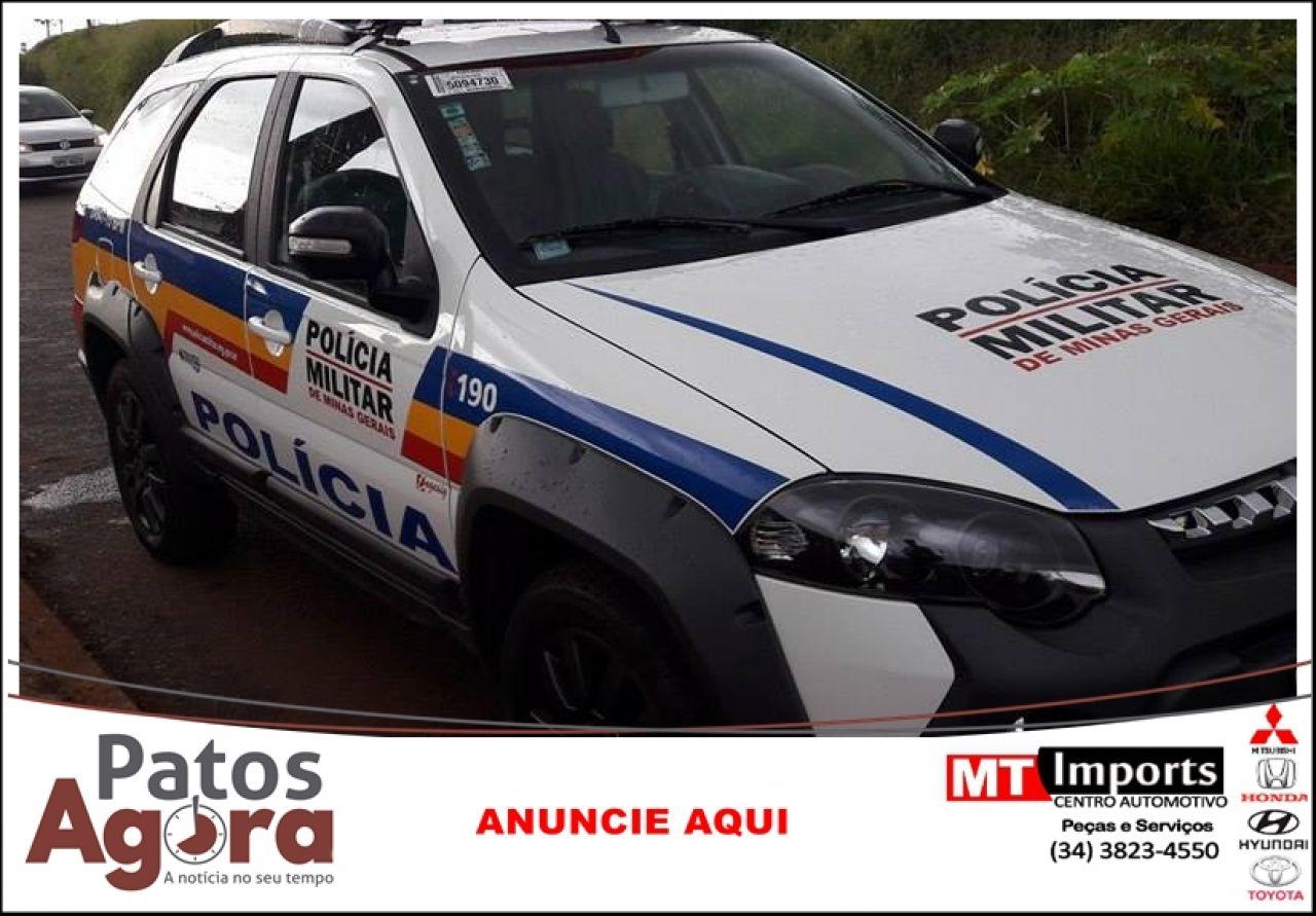 PM recupera Honda Biz produto de furto em Patrocínio