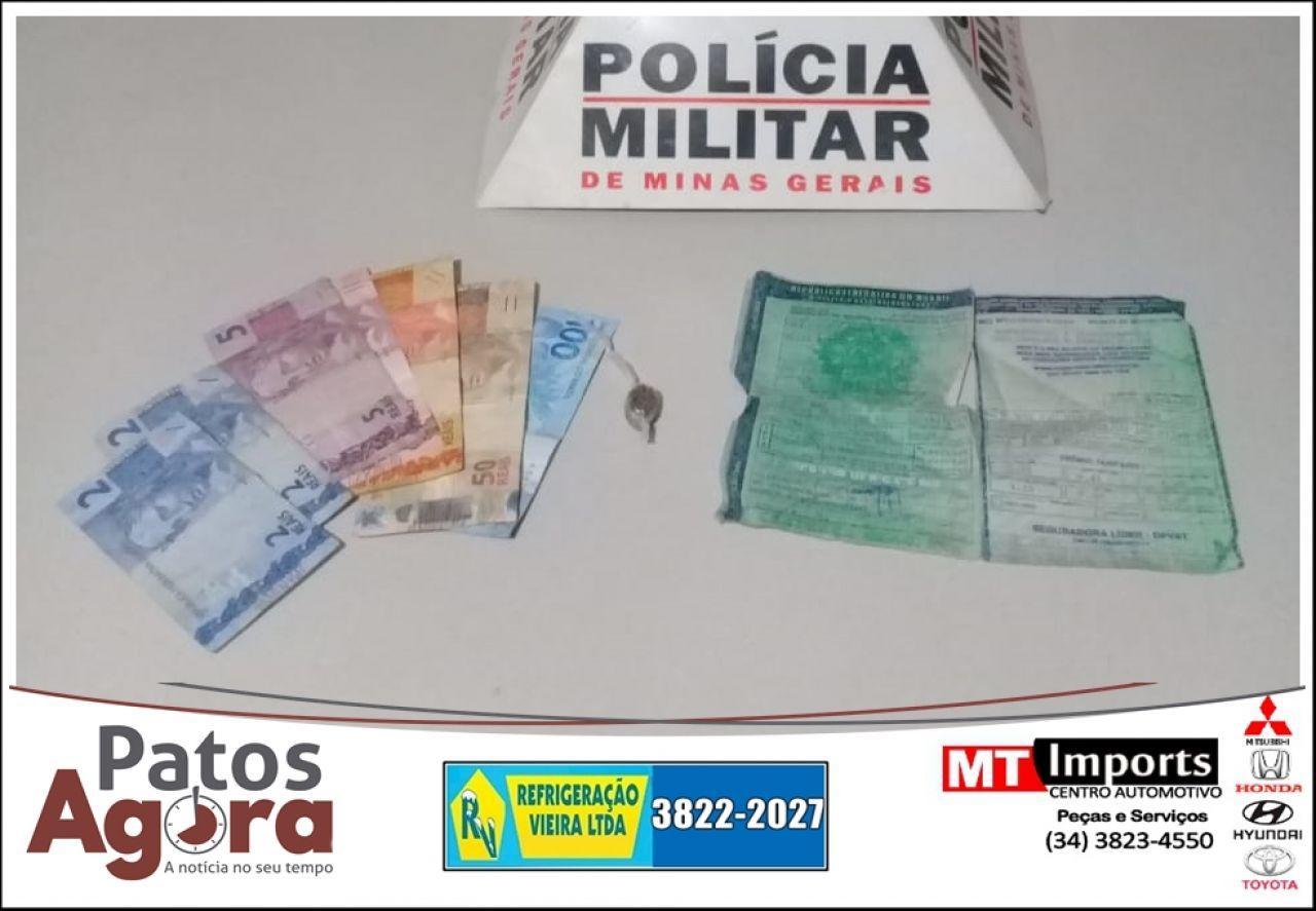 Polícia Militar prende um  autor e apreende um menor por tráfico ilícito de drogas