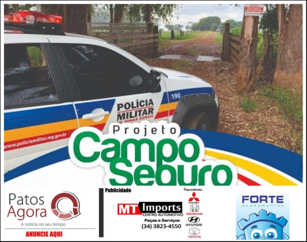 Em prol da segurança rural, PM lança Projeto Campo Seguro em São Gotardo