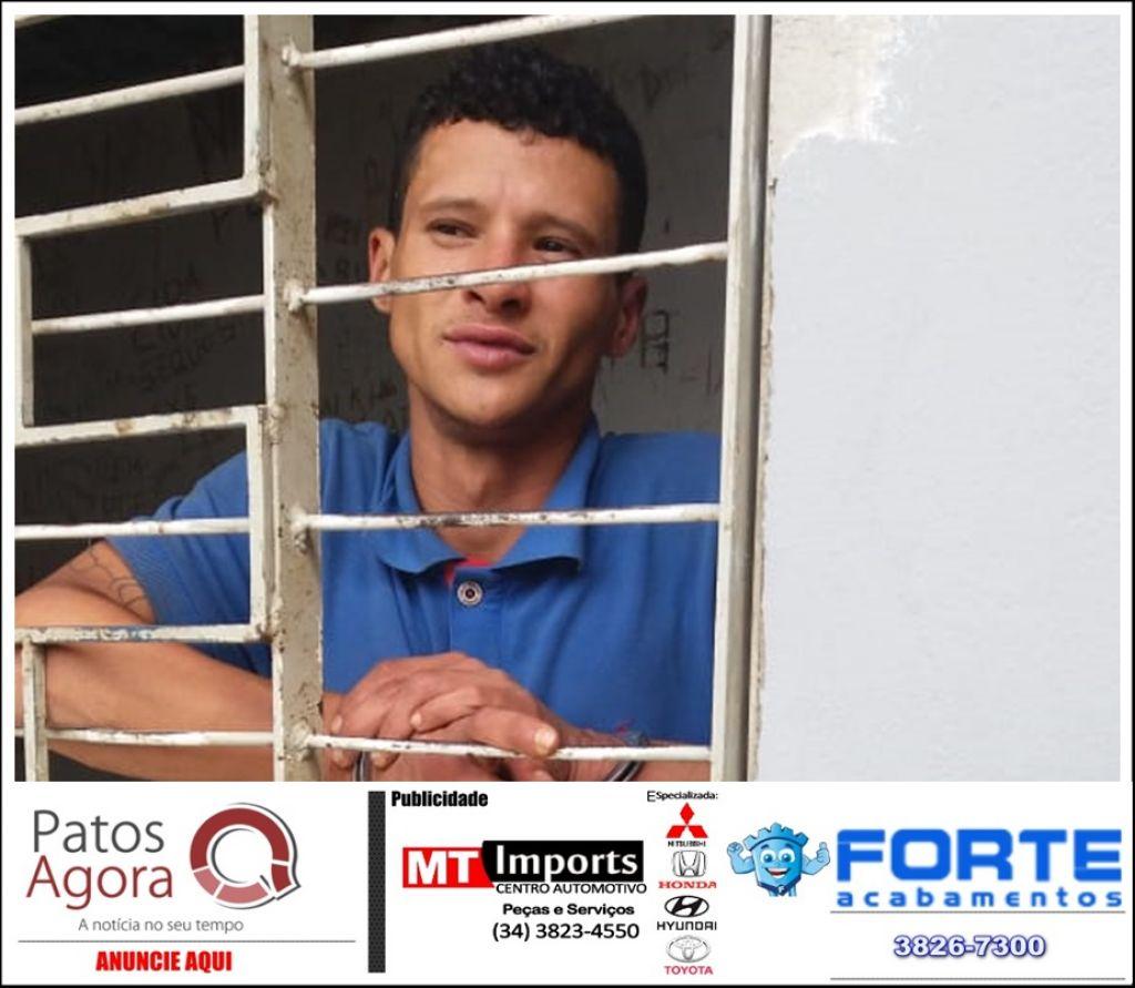 PM consegue localizar segundo envolvido em furto durante a madrugada no centro de Patos de Minas