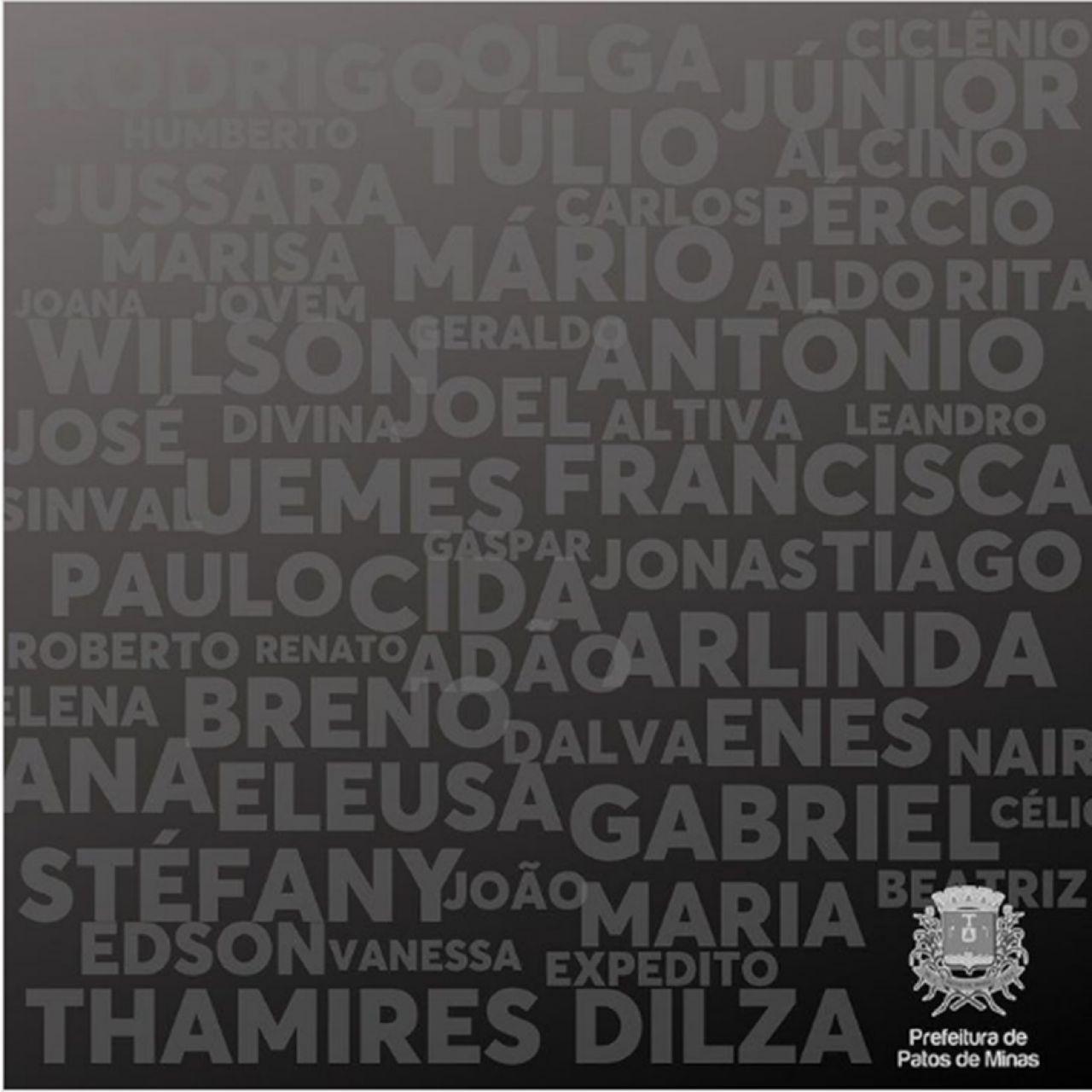 Prefeitura presta homenagem às mais de 500 vítimas perdidas para a covid-19 em Patos de Minas