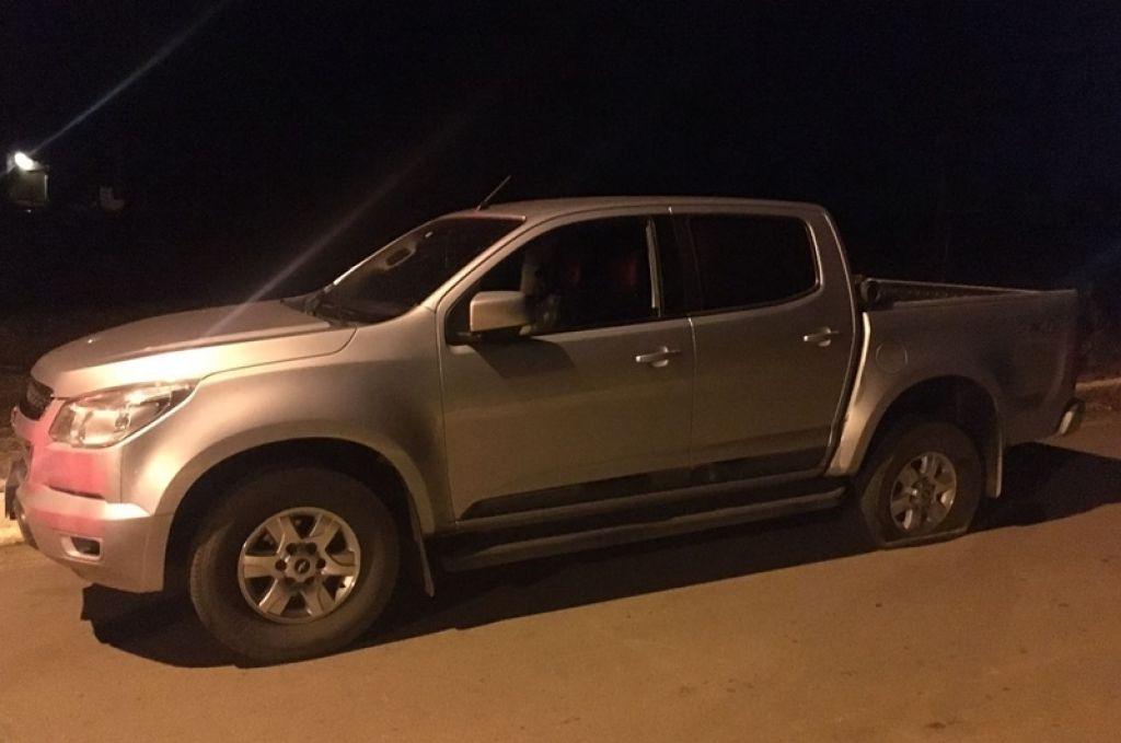 Polícia Militar de Patrocínio recupera caminhonete tomada de assalto em Carmo do Paranaíba