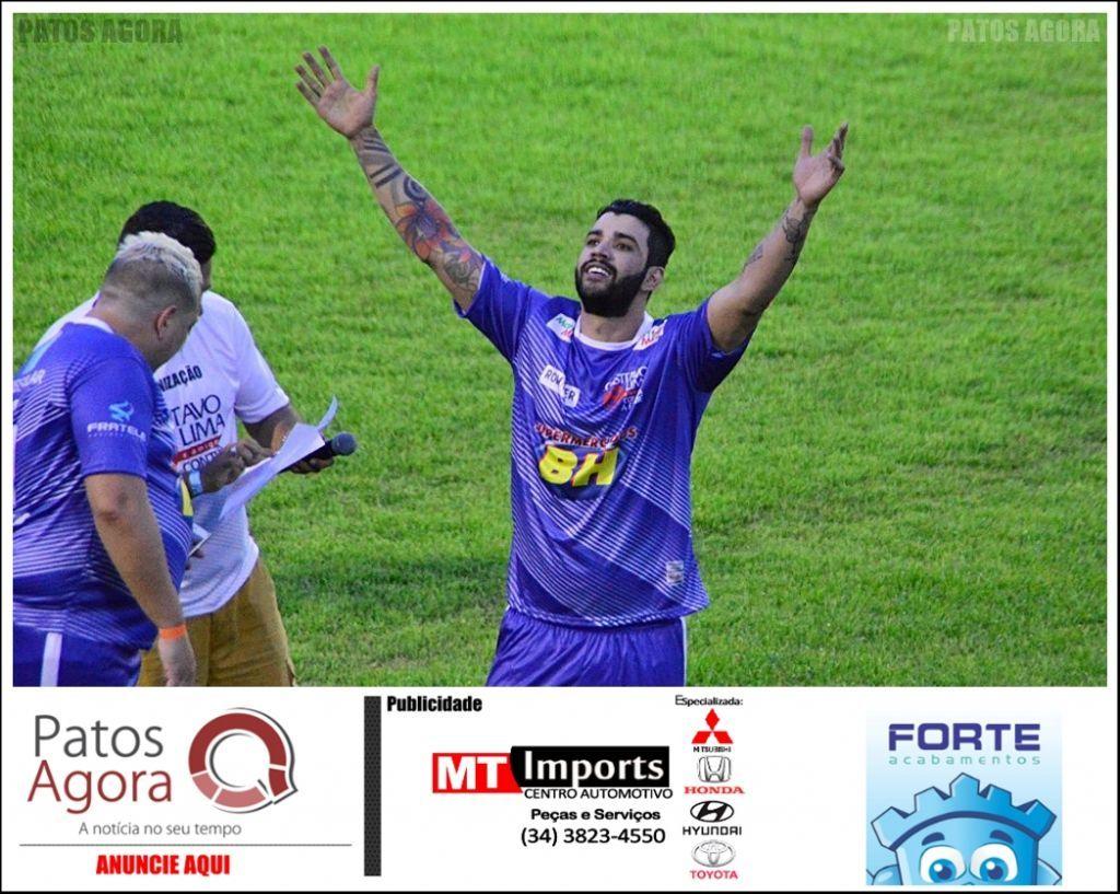 Jogo de futebol beneficente em Patos de Minas é confirmado para janeiro de 2020