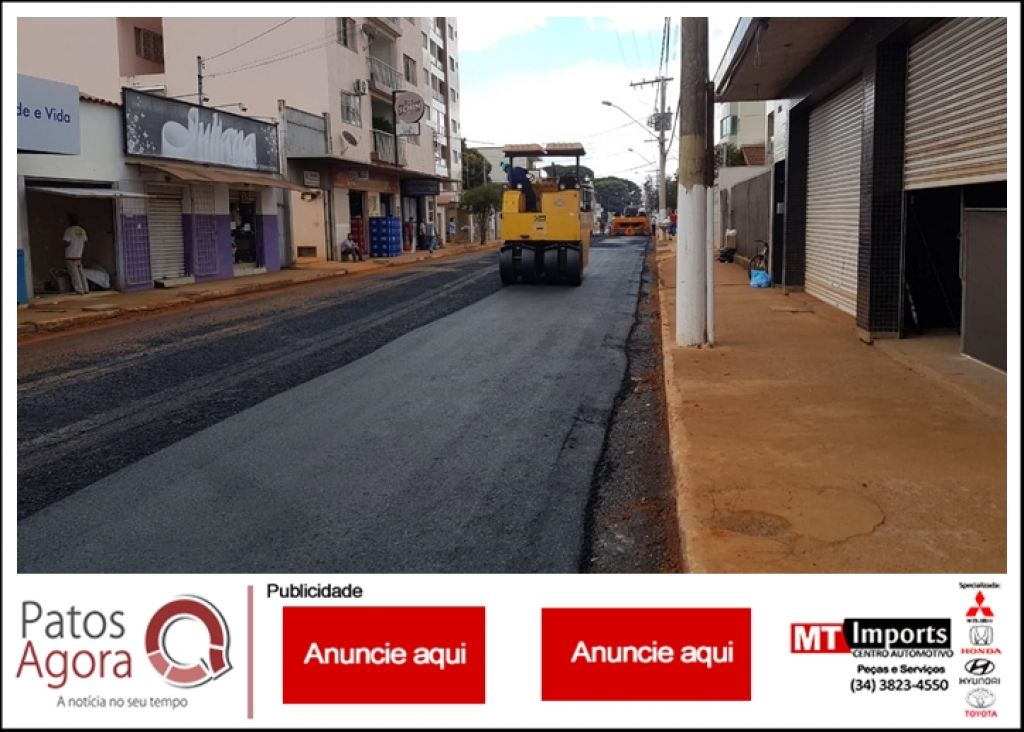 Obras de melhoria da Rua Ataualpa Dias Maciel chegam a sua etapa final