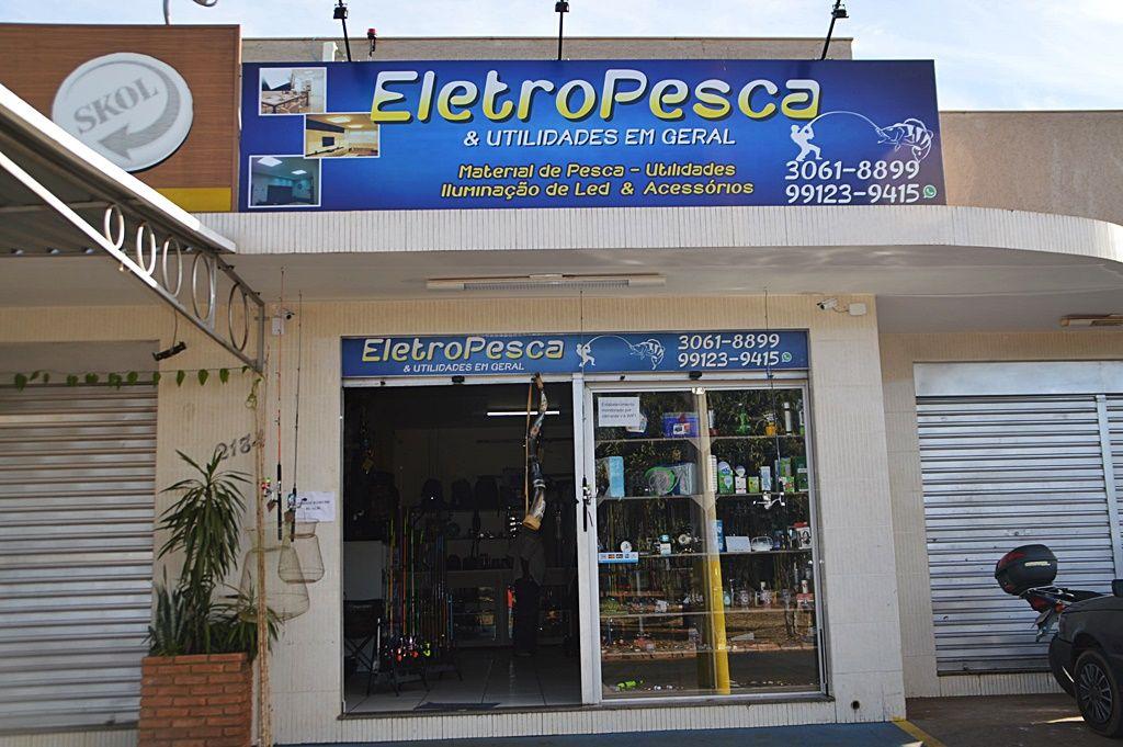 Eletrospesca: Patos de Minas ganha loja com grande variedade em produtos de pesca