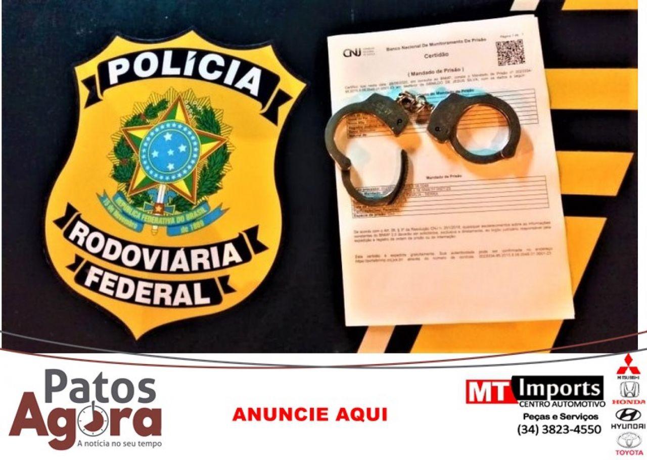 PRF prende caminhoneiro por falsa comunicação de crime na BR-040