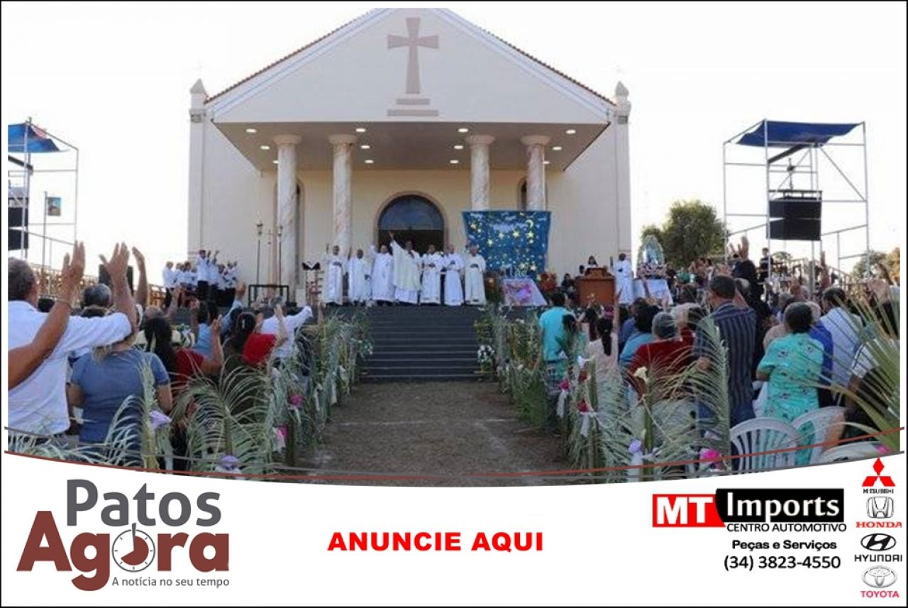 Covid-19: Santuário de Nossa Senhora da Abadia em Andrequice será fechado no dia 6 de agosto