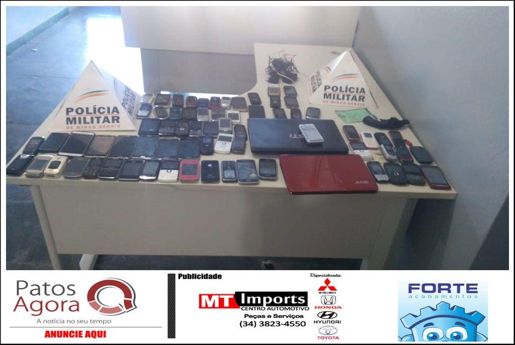 Pintor furta 70 aparelhos celulares no Fórum de São Gotardo; ele já havia trabalhado no local