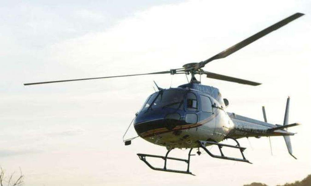 Helicóptero da PM cai durante treinamento em Ribeirão das Neves