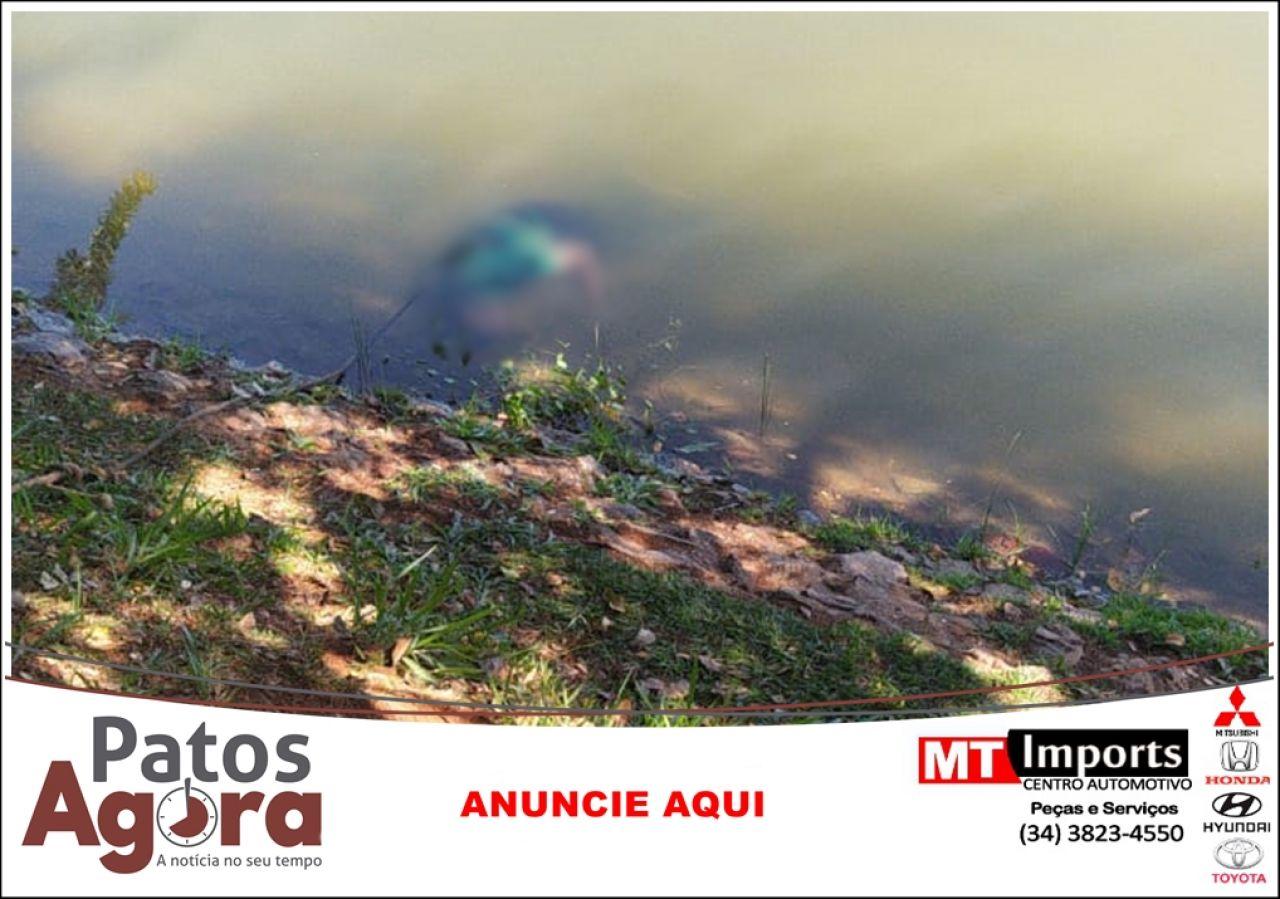 Corpo é encontrado submerso na Lagoa Grande, em Patos de Minas