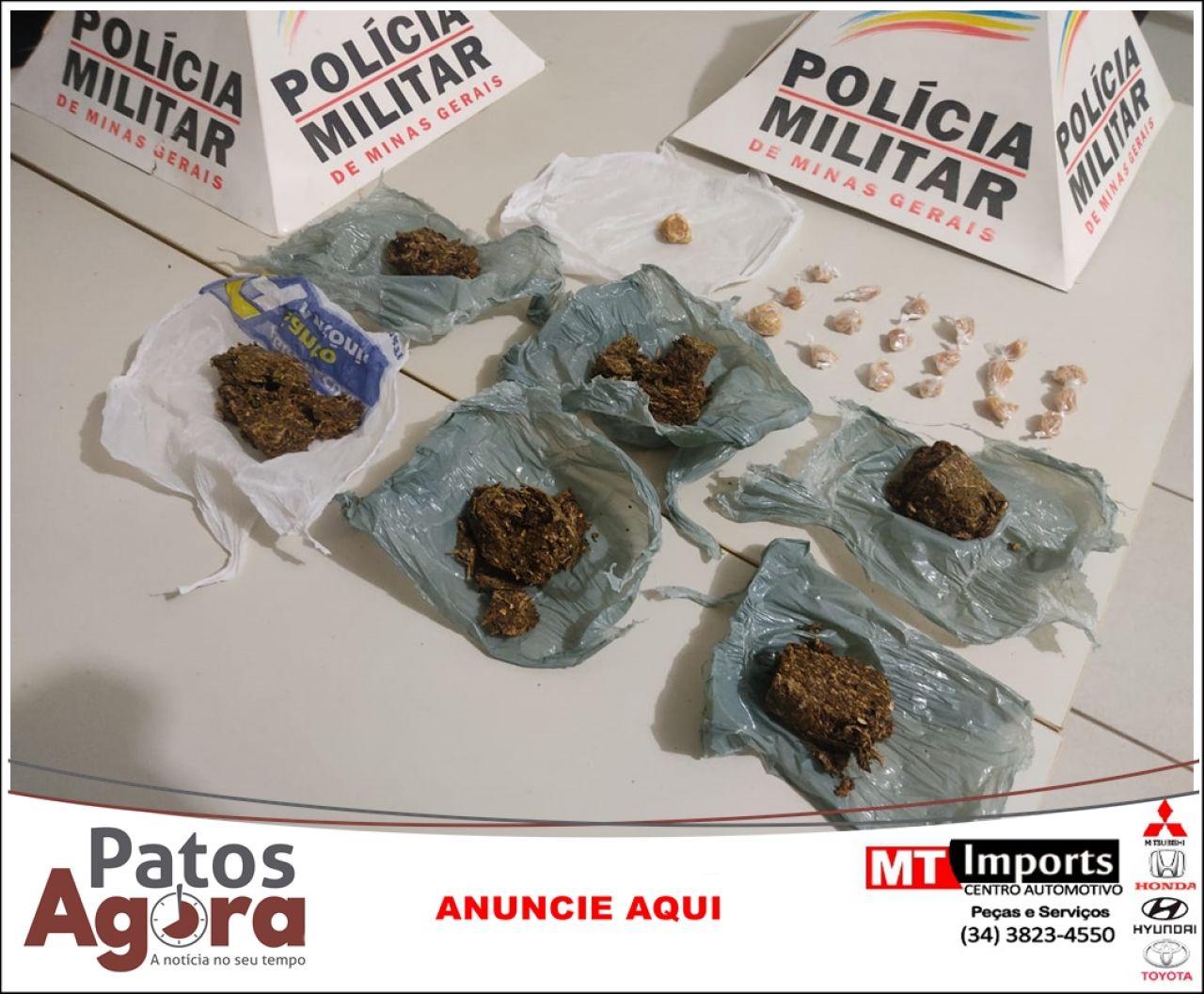 Operação em Presidente Olegário resulta em drogas apreendidas