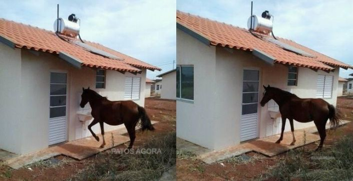 Enquanto isso em Patos de Minas...na entrega das casas da Pizolato.