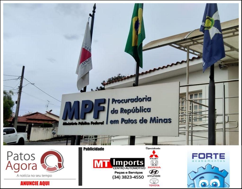MPF abre processo seletivo para serviço voluntário em Patos de Minas