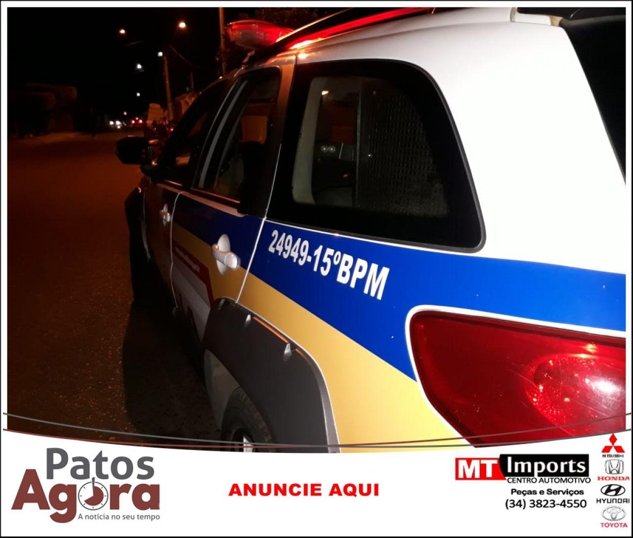 Polícia Militar de Patrocínio prende foragido da Justiça.