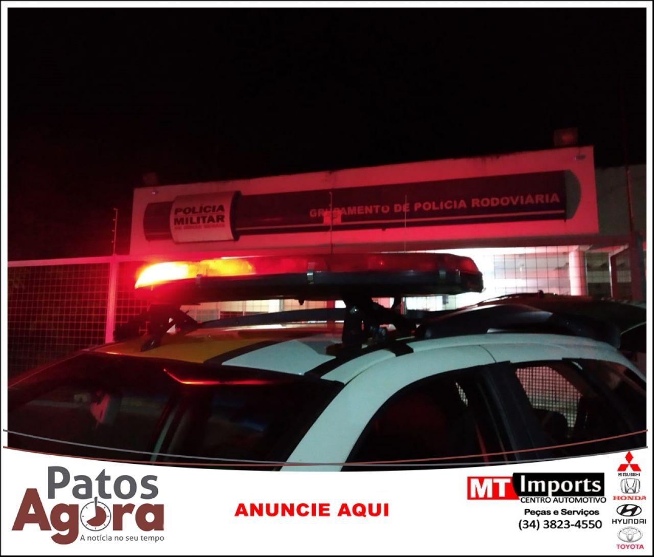 Condutor embriagado é preso durante operação Rota Segura na rodovia MGC 354