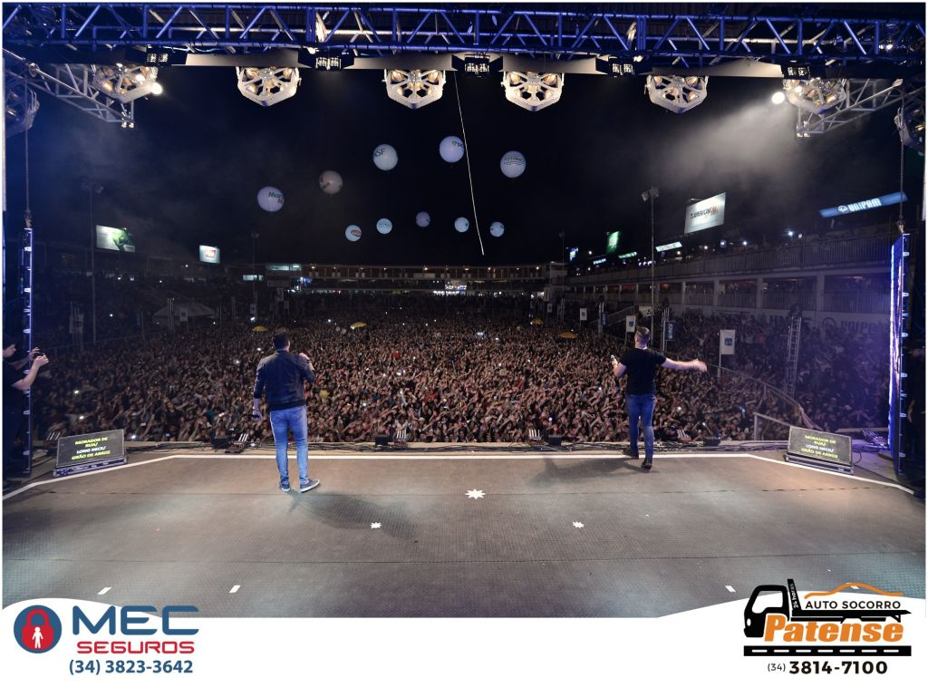 Chrystian & Ralf e Zé Neto & Cristiano atraem grande público para noite de sexta-feira