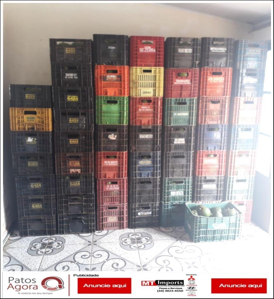 Suspeito de furtar 55 caixas de abacate é preso pela Polícia Militar