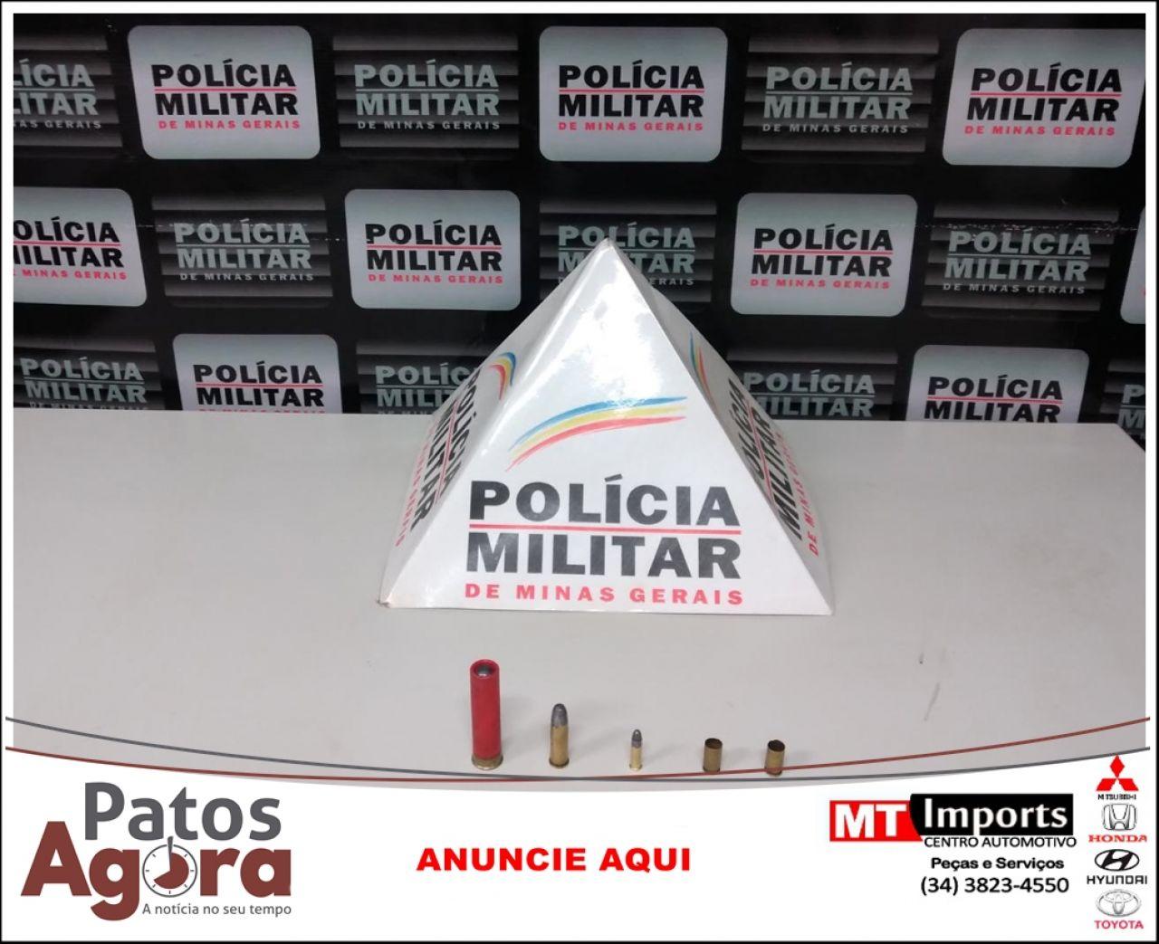 Polícia Militar prende autor por posse ilegal de munições