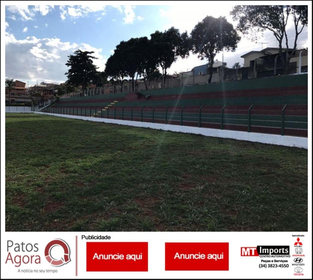 Estádio Edson Nunes de Paula, no bairro Vila Rosa, será reinaugurado neste domingo