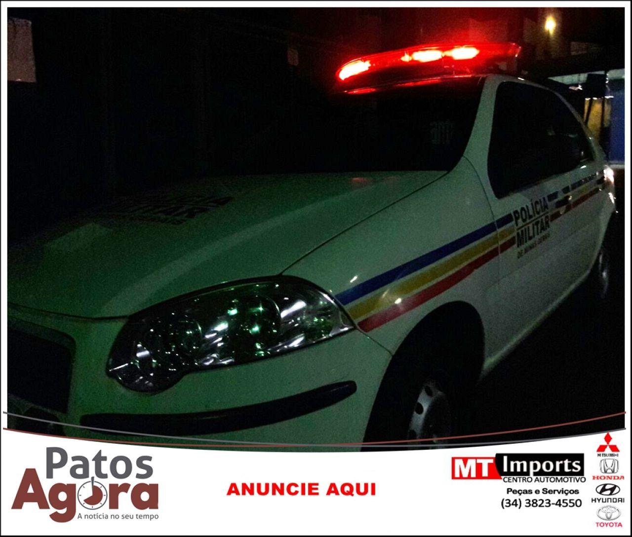 Motociclista fica ferido em acidente na Rua Dona Luíza