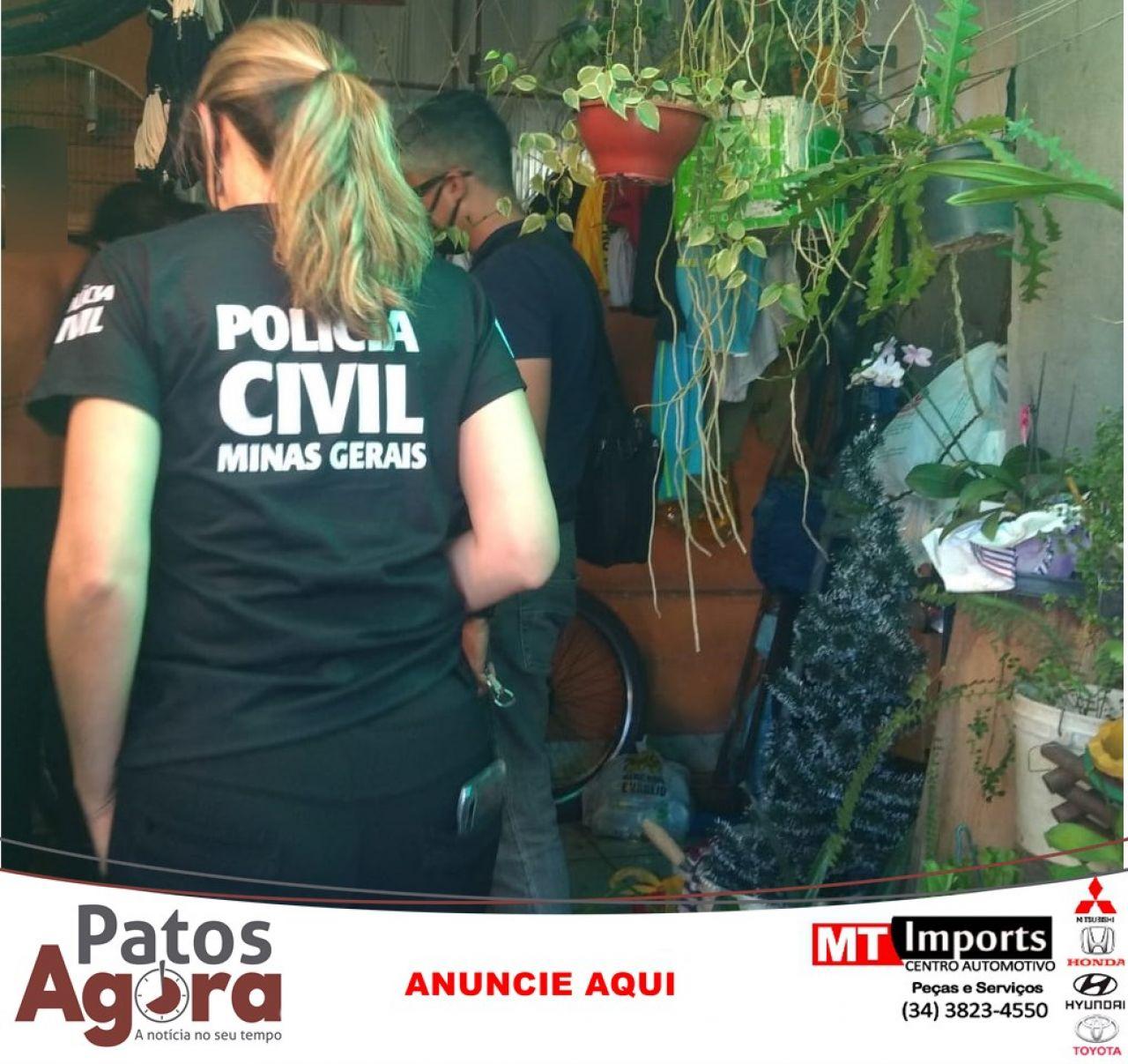 Polícia Civil resolve dois casos de feminicídio, em um dos casos o corpo da mulher foi carbonizado