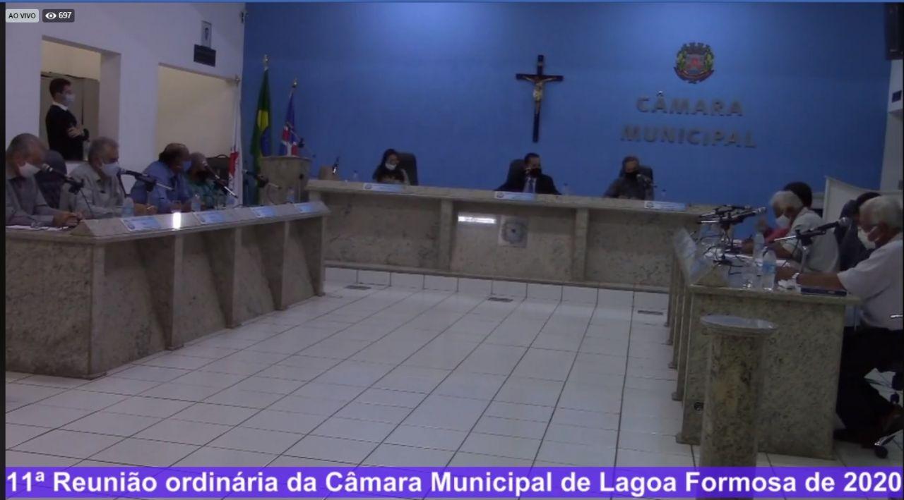 Projeto de redução dos salários é discutido na Câmara em Lagoa Formosa