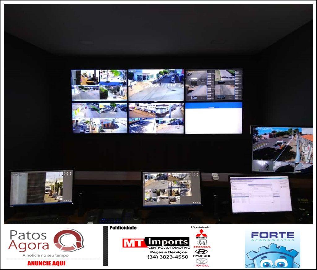 Sistema de monitoramento da PM, Olho Vivo, será inaugurado em Carmo do Paranaíba