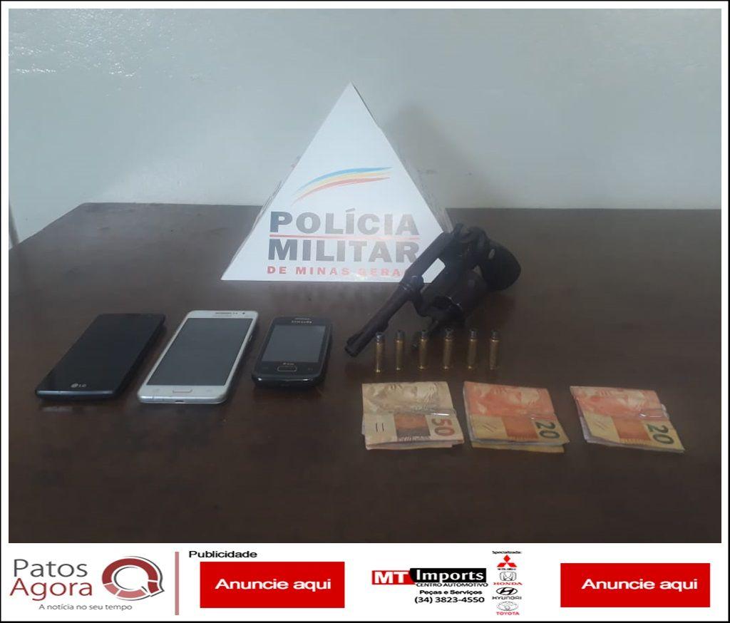 Após roubos, PM faz operação e prende quadrilha que cometia crimes nos povoados de Salitre de Minas e São Benedito