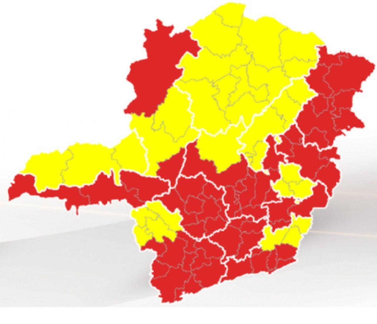Covid-19: informe sobre protocolo sanitário para onda amarela