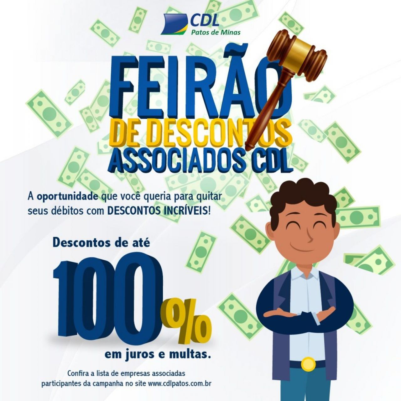 CDL lança ação para consumidores negociarem dívidas com abatimento de juros e multas