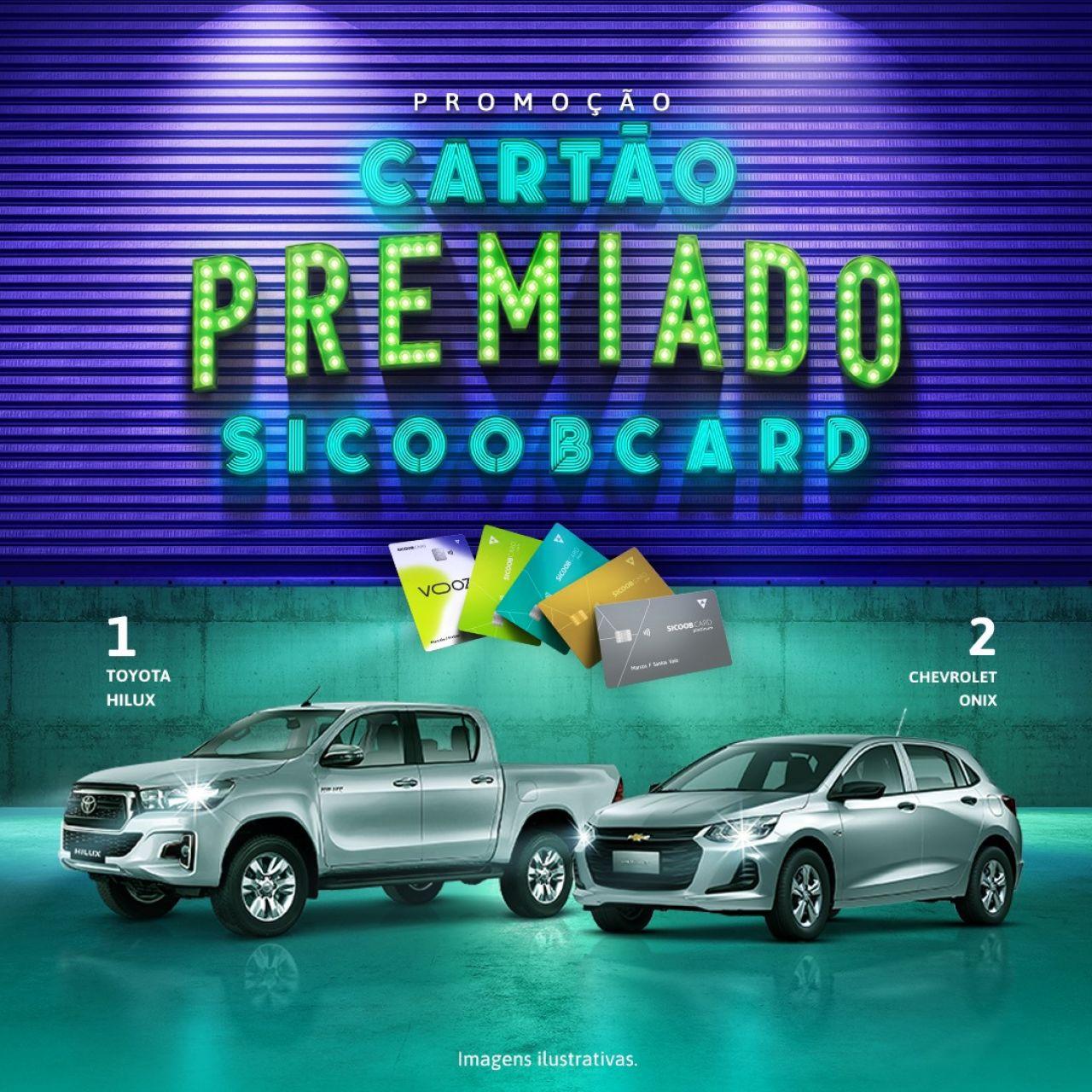 Cooperados Credipatos concorrem a automóveis 0 Km com a promoção Cartão Premiado Sicoob card
