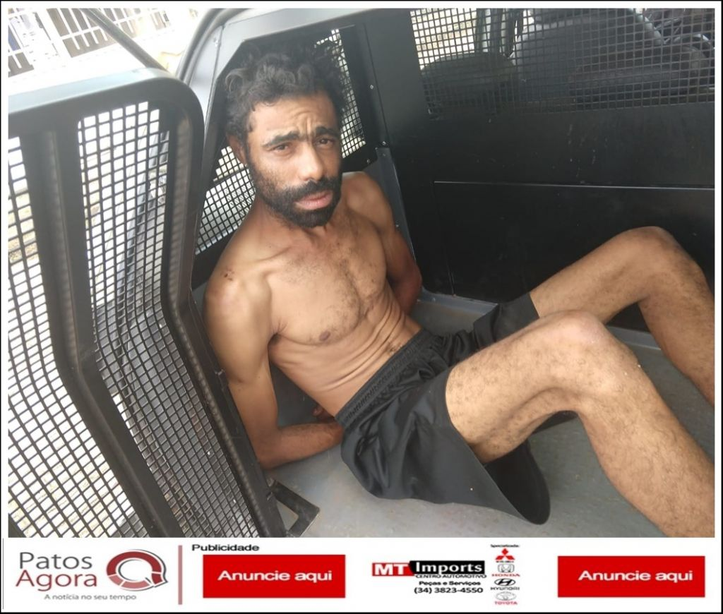 Homem é preso por receptação após PM localizar moto furtada em sua residência