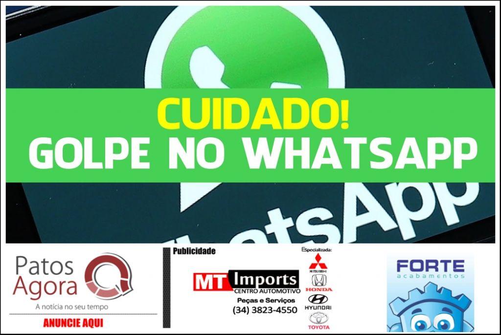 Novas vítimas na região caem no golpe do WhatsApp clonado e PM reforça o alerta