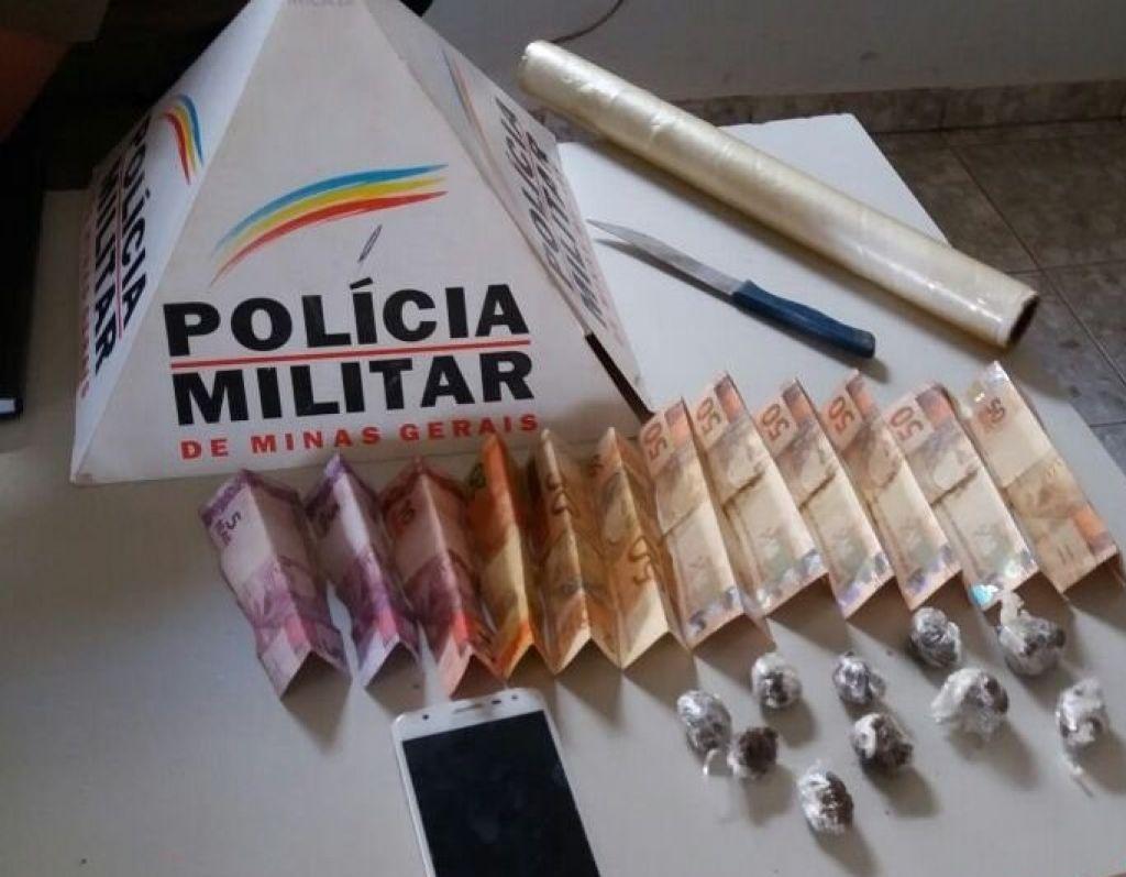 Adolescente é detido com droga e dinheiro no município de Lagoa Grande