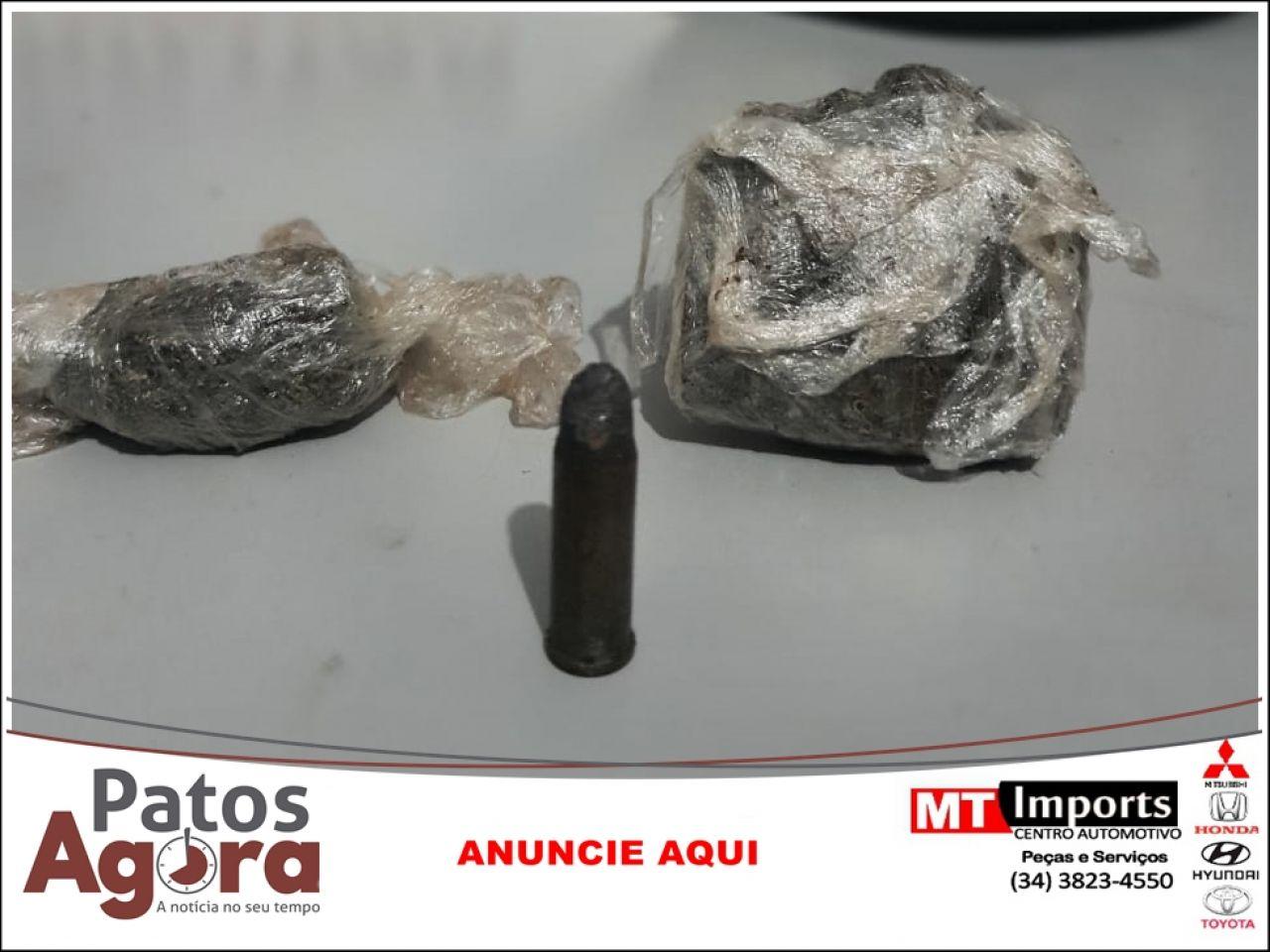 Menor é detido com dois tabletes de maconha no Bairro Morada do Sol