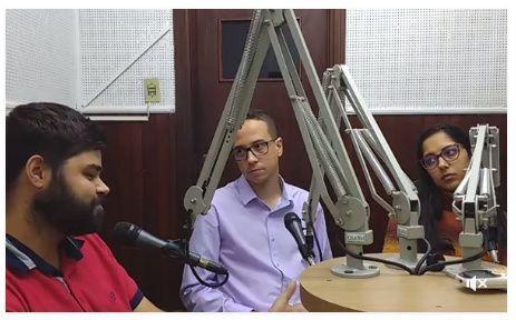 Entrevista concedido ao Coisa Nossa da Rádio Clube