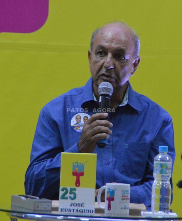 José Eustáquio agradece o apoio da população; veja sua mensagem