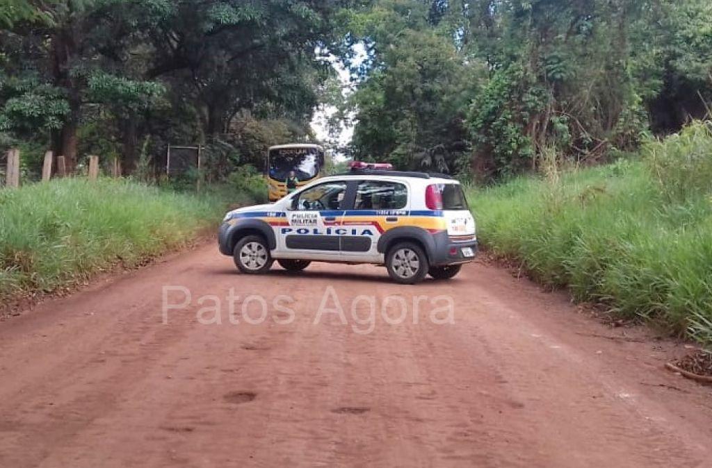 PM faz cerco para localizar bandidos que assaltaram agência dos Correios