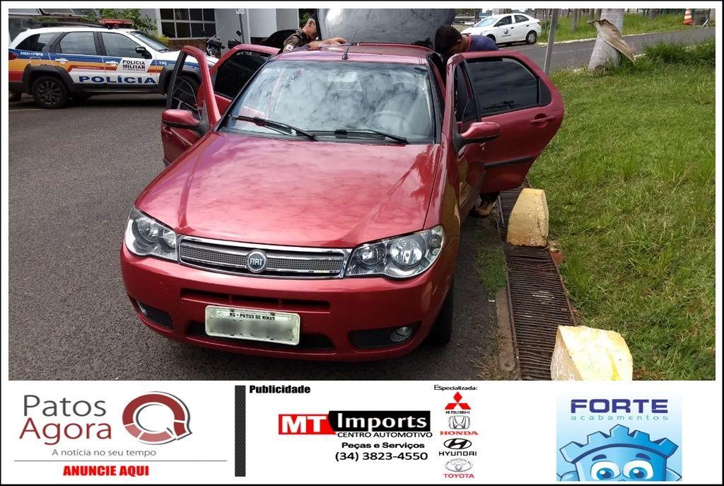 Veículo tomado de assalto em Patrocínio para quitar dívida com traficantes é recuperado em Uberlândia