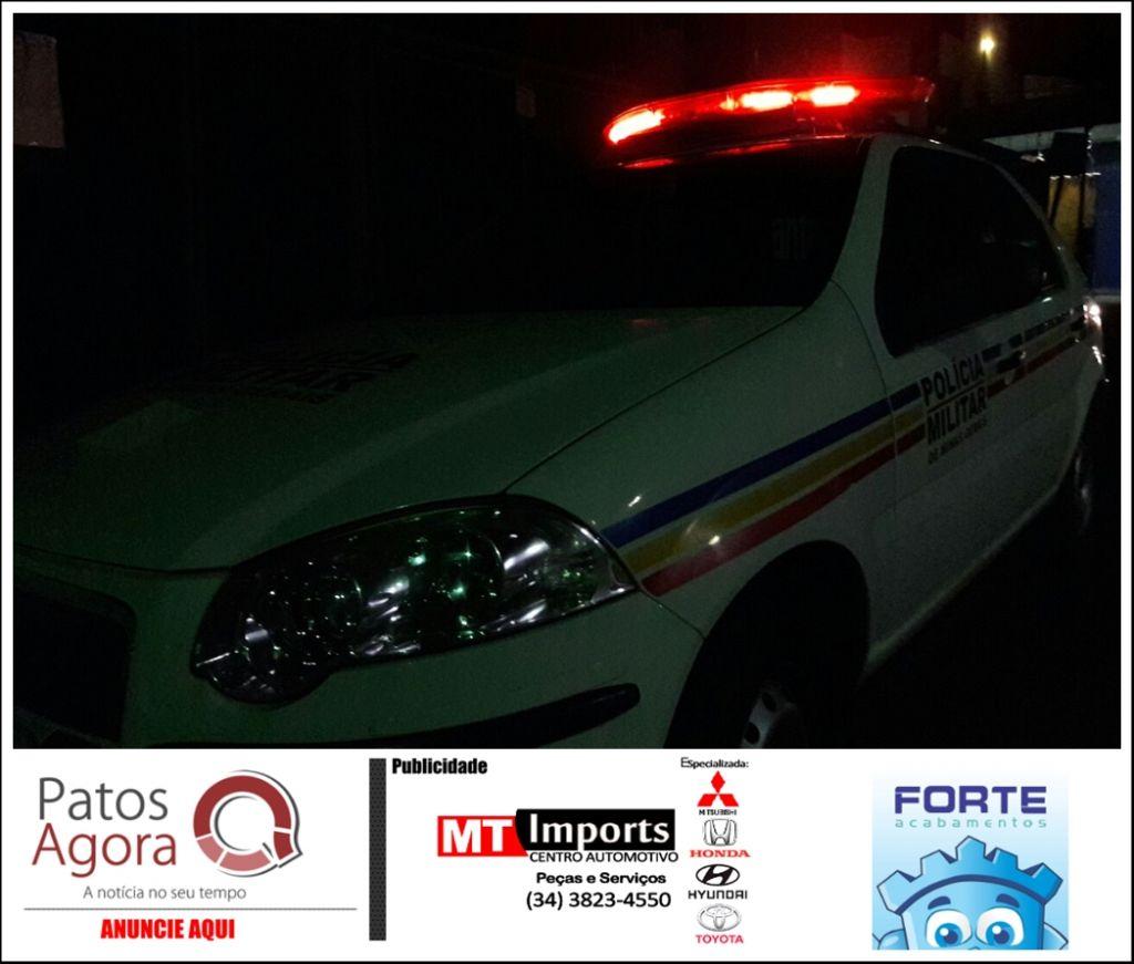 Adolescentes são assaltadas por dois indivíduos no Centro de Patos de Minas