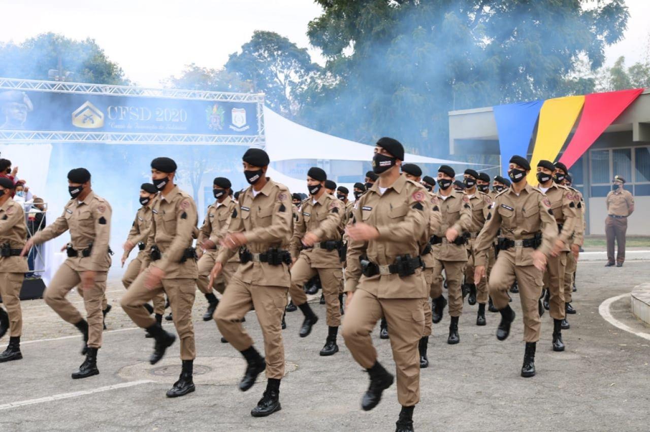 Segurança Pública recebe reforço de 934 policiais militares no interior de Minas