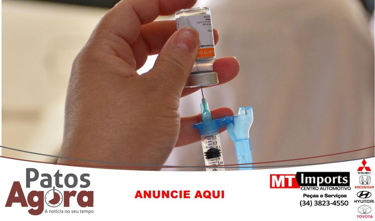 Mais de 700 mil doses de vacinas contra covid-19 chegam hoje, ao estado