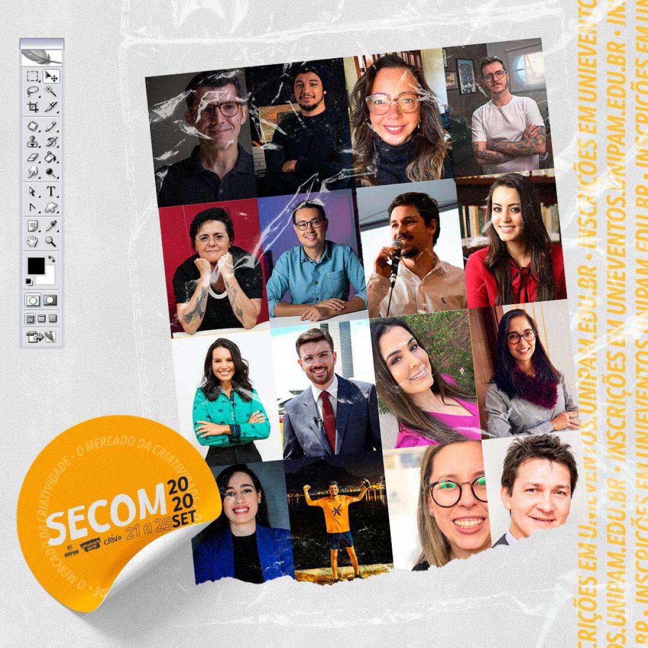Mercado da Criatividade é tema da Semana da Comunicação deste ano